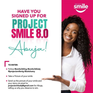 Project Smile - Win a free makeover smile
