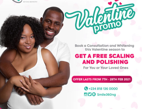 Free Scaling and Polishing Procedure In Lagos and Abuja Nigeria- Dental Valentine Offer.